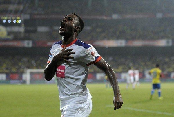 Ghanaian striker, Richard Gadze