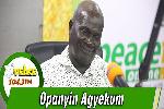 Dean of the School of Performing Arts of the University of Ghana, Professor Kofi Agyekum