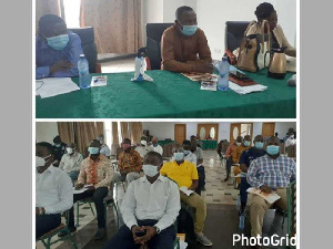 The workshop brought stakeholders together for road infrastructure sensitization