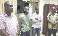 The four alleged fraudulent agents