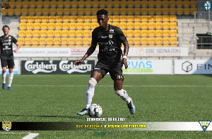 Ofori is a joint top scorer in Finnish Kakkone league with 12 goals in 18 matches