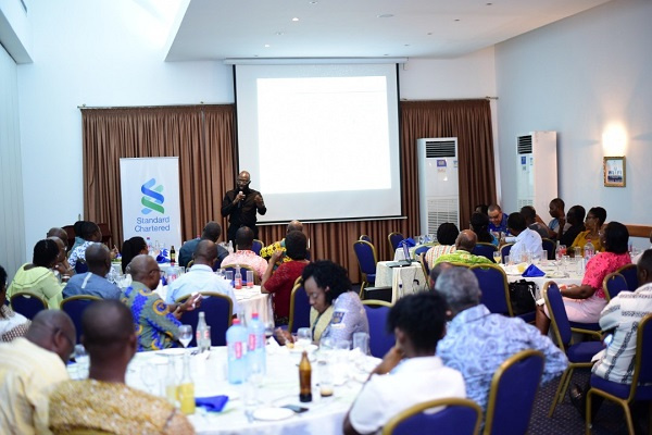 Standard Chartered Bank educating stakeholders on their objectives