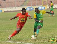 Fatawu Shafiu in action for Kotoko