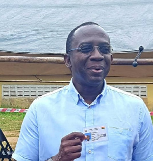Kingsley Awuah-Darko, former Managing Director of the Tema Oil Refinery (TOR)