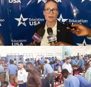 Cultural Attache, US Embassy, Liz Ategou