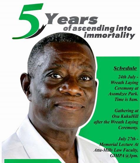 Late Prof John Evans Atta Mills