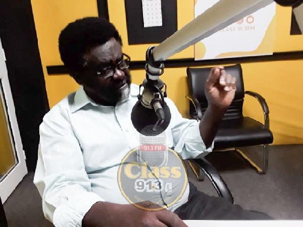 Political Analyst, Dr Richard Amoako Baah