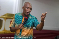 The Head Pastor for the Alabaster International Ministries, Prophet Dr. Kofi