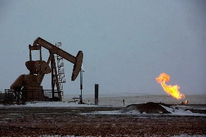 Oil prices plunged 5% on Friday and posted a fifth straight weekly loss