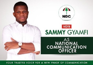 Sammy Gyamfi Ndc Elections
