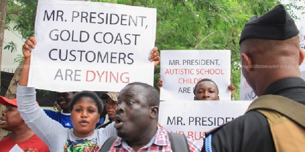 We blame you for our suffering – Gold Coast customers to Akufo-Addo