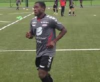 Ghanaian midfielder Kennedy Ashia