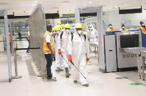 Officials Disinfect KIA