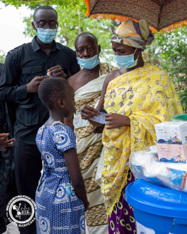 Agonahemaa donates critical PPE'S in the fight against coronavirus