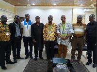 Director General of AITI-KACE Mr. Kwasi Adu-Gyan with KNUST's Prof Mark Adom-Asamoah