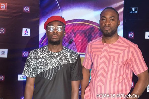 Teephlow at the Central Music Awards night