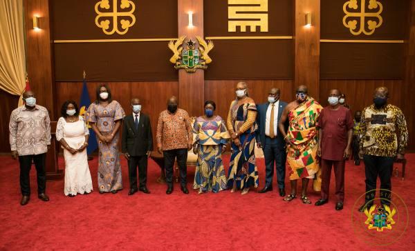 President Akufo-Addo inaugurates Governing Board of RTI Commission