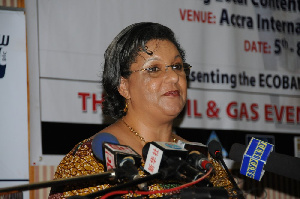 Ms. Hanna Serwaa Tetteh, the Minister of Foreign Affairs and Regional Integration
