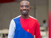 A member of the NPP Communication team, Dennis Miracles Aboagye