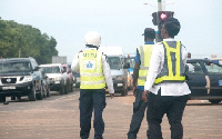 The drivers of the 46 commercial vehicles allegedly breached some road traffic regulations