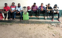 The seven nigerians arrested in Ho