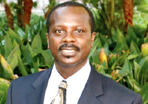 Prof Kwaku Asare, a law professor and accountant