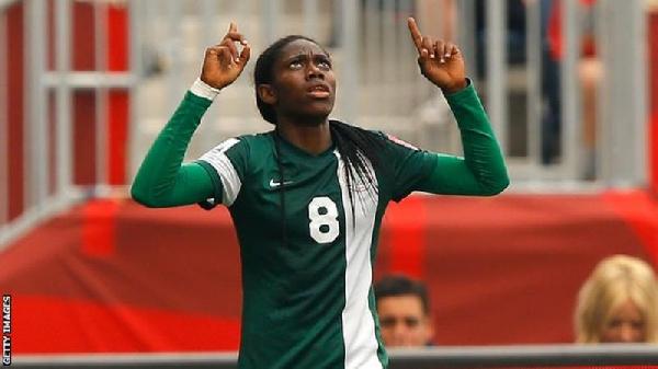 2022 AWCON Qualifiers: Nigeria\'s Oshoala talks tough ahead of Ghana clash