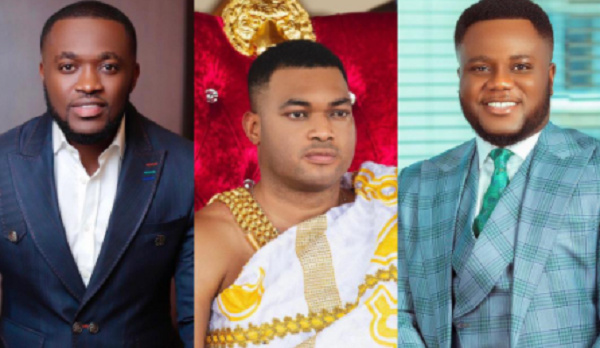 Kennedy Osei, Kwadwo Safo and Kofi Acheampong are running businesses belonging to their fathers