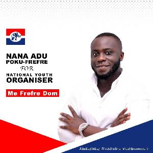 Nana Poku Frefre wants to be the NPP National Organiser