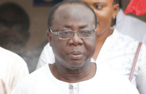 Acting National Chairman of the New Patriotic Party, Freddie Blay