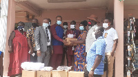 The donation formed part of the Assembly's efforts to fight coronavirus