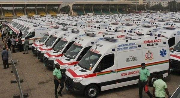 Coronavirus: WHO gives Ambulance Service GH¢72k for fuel