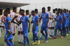 The Dansoman based side defeated the home side by 2-1 at their own backyard.
