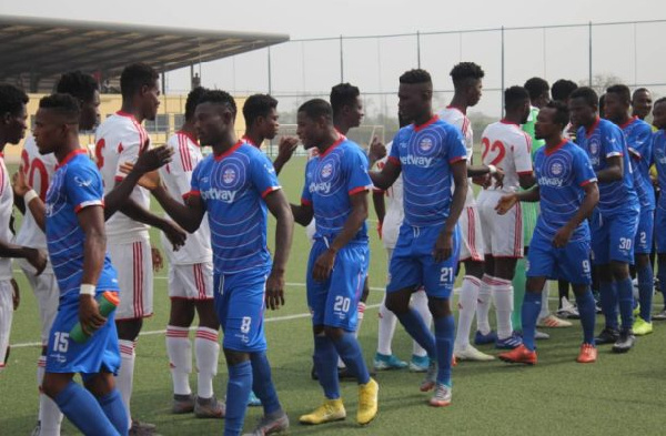 Liberty Professionals stun Wafa at Sogakope