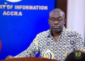 Information Minister-designate, Kojo Oppong Nkrumah