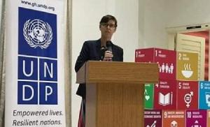 UNDP Ghana Resident Representative, Silke Hollander