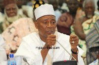 Minister for Inner City and Zongo Development, Alhaji Boniface Abubakar Saddique
