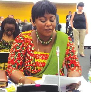 Mrs Benita Sena Okity-Duah, MP for Ledzokuku,