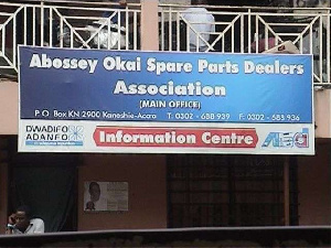 Abossey Okai Spare Parts Dealers Association in Accra