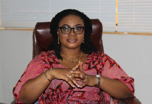 Charlotte Osei is Chairperson of Electoral Commission