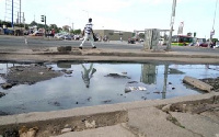 MP for Ablekuma North, Akua Afriyei is accusing residents of dumping refuse into the drains