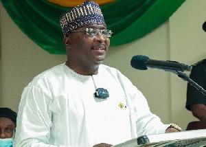 Mahamudu Bawumia, Vice President of the Republic of Ghana
