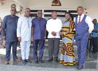 The new board members of Ghana Post
