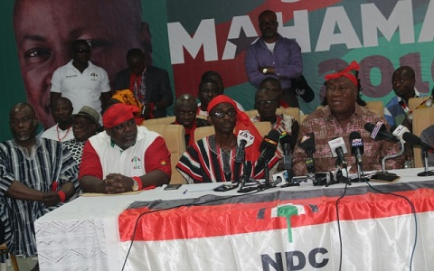 The NDC unsuspectingly lost the December 7, 2016 presidential and parliamentary elections