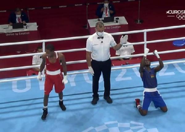 Tokyo Olympics: Sulemanu Tetteh eliminated