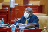 Member of Parliament for Sefwi Wiawso, Kwaku Afriyie