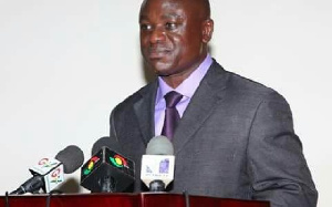 Paul Ansah, Acting Director-General of the Ghana Ports and Harbours Authority (GPHA)