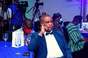 Board Member of the Steaman Height Ghana National Gospel Music Awards, Kwabena Obeng