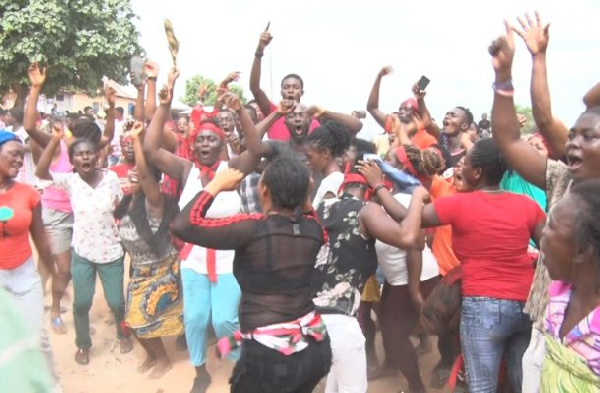 Land guards storm funeral; beat pregnant women, others at Apam