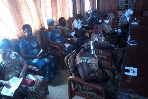 A section of the Wives of Police Officers during the meeting